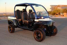 Custom lifted GEM Car #innovationmotorsports