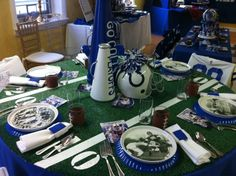 Setting the Mood: Colts Playoff Party