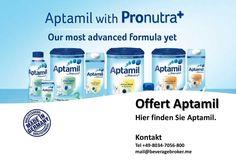 Offert Aptamil  Wir liefern Baby Nahrung von Milupa/Danone Aptamil Produkte Mehr Information +49-8034-7056800 mail@beveragebroker.me