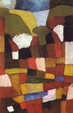 Paul Klee | Garden, 1925