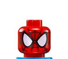 LEGO SPIDERMAN MIGHTY MICROS HEAD | LEGO MARVEL SUPER ...