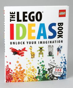 The LEGO Ideas Book Hardcover by LEGO on #zulily #ad *cool... Do your kids follow instructions with their LEGOs or play creatively?