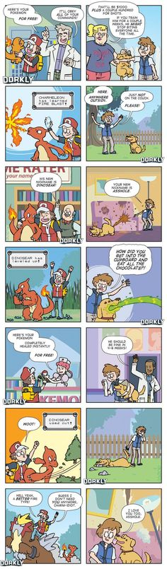 """""""Owning A Pokemon vs. Owning A Real Pet"""" #dorkly #geek #pokemon"""