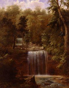 Minneopa Falls, Minnesota  Artist/Maker:Robert S. Duncanson (American, b.1821, d.1872), painter Date:1862 Classification:Painting