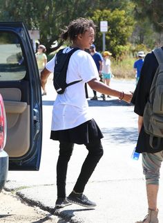 Pin for Later: Jaden Smith Wears Dresses —Here's Why That Totally Rocks