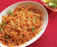Shredded Carrots with Jalapeño, Lime & Cilantro recipe