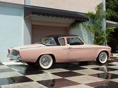 Studebaker Hawk - my Dad had one of these.