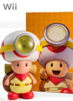 Cute Captain Toad lamp van Club Nintendo!