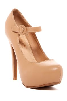 Nude | Mary Jane pumps I must own these!!