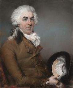 Primary Title: Portrait of George de Ligne Gregory (1740 - 1822) Maker Name: John Russell, R.A. (English, 1745 - 1806) Type: Drawings Medium: Pastel on paper, laid on canvas Date: 1793 Source: J. Paul Getty Museum