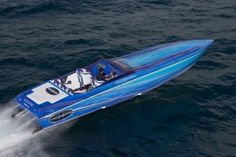 Cigarette Racing Team's Icon, the 38' Top Gun
