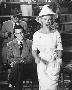 Doris Day and Rock Hudson. These two will keep you laughing in any movie you watch starring them together. Piper Laurie, Donna Reed, Yvonne De Carlo, Saint Yves, John Wesley, Carole Lombard, Clark Gable, Vintage Hollywood, Classic Hollywood