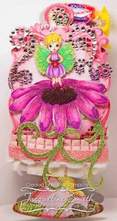 FLORA FAIRY  http://www.whimsystamps.com/index.php?main_page=product_info=13_38_id=2570  Card designed by Jackie S  http://www.stamping4you.blogspot.com/