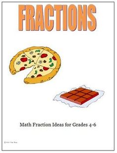 Fraction ideas and activities for your sixth grade classroom.