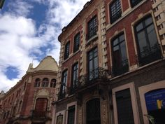 Old buildings at downtwon Bogotá