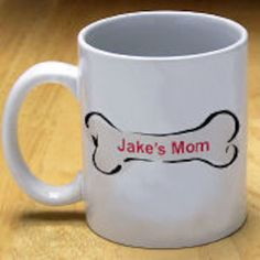 Personalized Doggy's Owner Coffee Mug