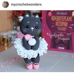 New pattern allert @mycrochetwonders - - #amigurumi #amigurumiaddict #amigurumipattern #amigurumidesign #amigurumilove #cat…