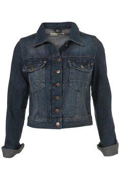 TopShop Denim Jacket, £40, 99% cotton, 1% elastine