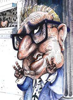 Henry Kissinger by Chris Grosz