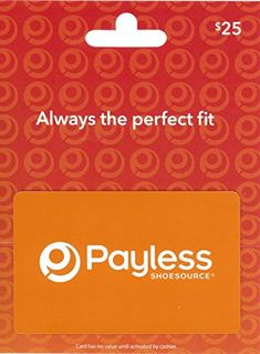 Payless ShoeSource 25 Gift Card -- Click image for more details.Note:It is affiliate link to Amazon. #foryouby