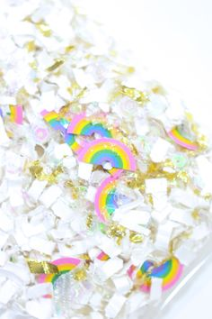 Magic is everywhere. You just have to look for it. {Rainbow Land confetti mix by The Confetti Bar}