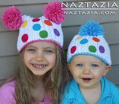 Crochet Birthday Party Hats