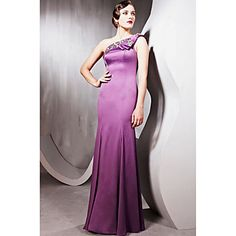 5f8341a320f3 Trumpet Mermaid Sweetheart Floor-length Silk Special Occasion Dresses
