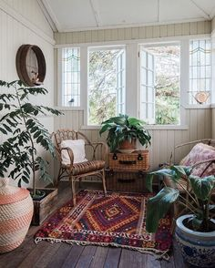 A Warm, Bohemian Country Style Australian Home — House Tour Warm colors, wood tones and a bounty of house plants make up the elegantly simple interior of this Australian rental home. Decor, Home, House Interior, Apartment Decor, Australian Homes, Country Style Homes, Country House Decor, Home Interior Design, Interior Design