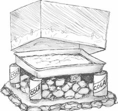How to Make a Campfire Oven  from a Cardboard Box....Love doing this with the gidgets!  Been doing this since I was GS Leader.  Great way to make brownies and personal pizzas while camping.  :-)