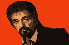 "Saatchi Art Artist ACQUA LUNA; Painting, ""15-CELEBRIDADES. Al Pacino."" #art"
