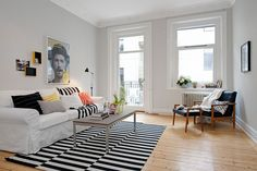 Scandinavian Design: Hip and Fresh Apartment in Gothenburg