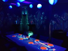 Ultrazone Laser Tag, Madison, WI Glow Party Room