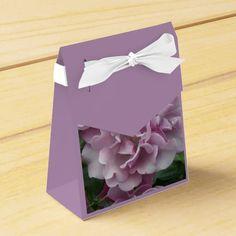 Lavender Roses Party Favor Boxes #flowers #partyideas #showerideas