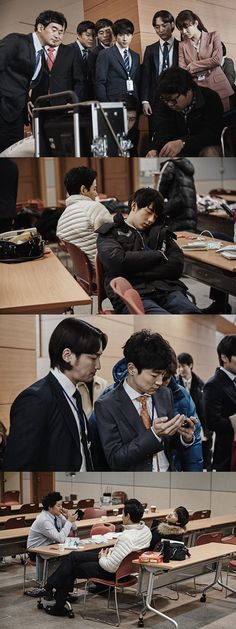 """Misaeng"" Behind-the-scenes"
