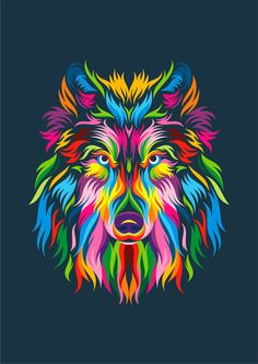 "Check out my @Behance project: ""Full Color Wolf"" https://www.behance.net/gallery/49537537/Full-Color-Wolf"
