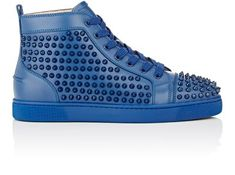"Christian Louboutin Spiked ""Louis Flat"" Sneakers at Barneys New York"