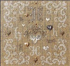 Alphabets & Borders - Cross Stitch Patterns & Kits