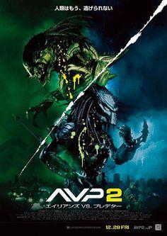 『AVP2 エイリアンズVS.プレデター』 #AVP2 Aliens vs Predator Requiem []  one sheet [] [2007] [] http://www.imdb.com/title/tt0758730/?ref_=nv_sr_2 []