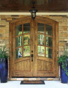 Keowee 6LT Knotty Alder Door