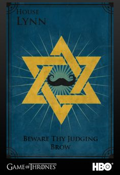 "If I were in game of thrones, this would be my house banner.Currently my facebook cover photo, but next year, it's going on a flagpole on the front lawn of my apartment. ""beware thy judging brow""."