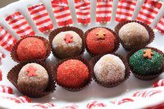 Gingerbread Truffles by Munchkin Munchies.