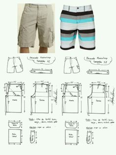 Board shorts cargo shorts mens