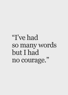 my life story, thankfully, I have finally found my courage to speak, even when my voice is shaking.