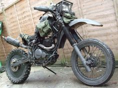 Grabenratte, the Grave Rat Bike Motorcycle Camping, Chopper Motorcycle, Moto Bike, Motorcycle Clubs, Custom Motorcycles, Custom Bikes, Offroader, Cool Bikes, Rat Bikes
