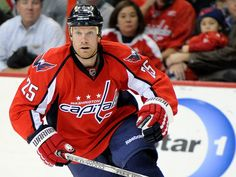 WAS #25 Jason Chimera, great player, even better human being