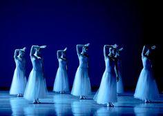 aurelie-dupont:  Boston Ballet in Balanchine's Serenade Photo© Emma Khauldar