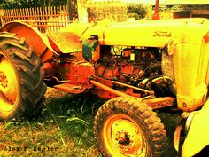 Alex photograph project: Tractor...