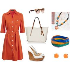 Orange Day, created by polyvorian-218.polyvore.com