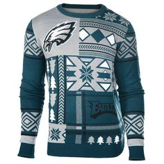 Philadelphia Eagles Team Ugly Christmas Sweater – Ugly Christmas Sweater Party