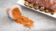 The Best Dry Rub Recipe For Pork - Looking for a rub for a pork butt or ribs? This is the best dry rub recipe for pork hands down! Best Dry Rub Recipe, Bbq Rub Recipe, Dry Rub Recipes, Grilling Recipes, Pork Recipes, Cooking Recipes, Smoker Recipes, Recipies, Traeger Recipes